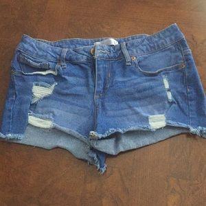 Cut off denim shorts - No Boundaries